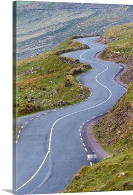 Connor pass, Dingle peninsula, County Kerry, Munster province, Ireland