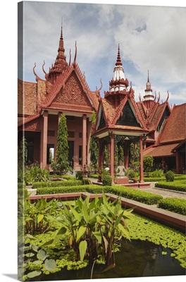 Courtyard at National Museum, Phnom Penh, Cambodia