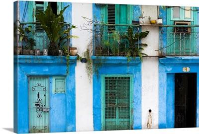 Cuba, Havana, Havana Vieja, Old Havana buildings