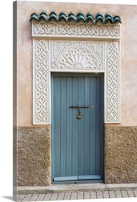 Decorative doorway in the medina (old town)