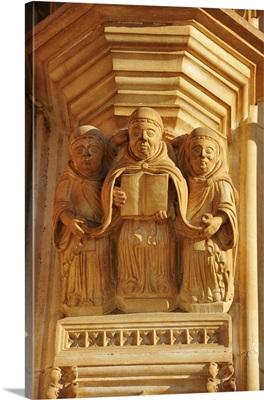 Detail of the portal of Batalha Monastery, Portugal