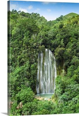 Dominican Republic, Eastern Peninsula De Samana, El Limon Waterfall