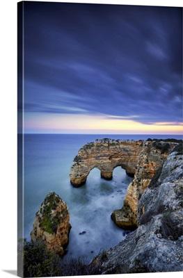 Double Sea Arch, Praia Da Marinha, Caramujeira, Lagoa, Algarve, Portugal