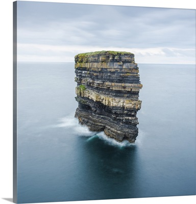 Downpatrick Head, Ballycastle, County Mayo, Donegal, Connacht region, Ireland