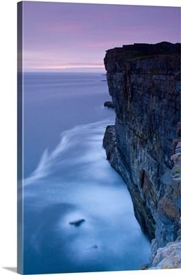 Dun Aengus and Cliffs, Inishmore, Aran Islands, Co. Galway, Ireland