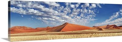 Dune Impression In Namib, Namibia, Hardap, Tsauchab River, Namib Naukluft National Park
