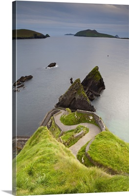 Dunquin harbour, Dingle Peninsula, County Kerry, Munster, Republic of Ireland