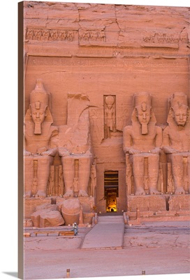 Egypt, Abu Simbel, The Great Temple, known as Temple of Ramses II