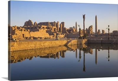 Egypt, Luxor, Karnak Temple, Temple of Amun