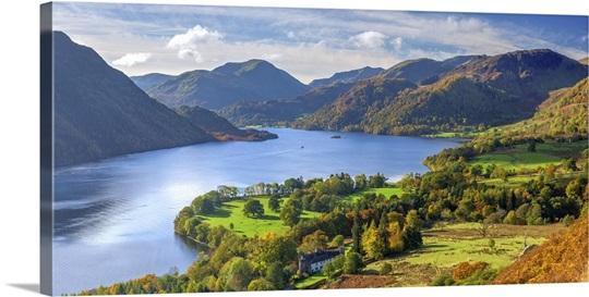 England, Cumbria, Lake District, Ullswater Wall Art, Canvas Prints ...