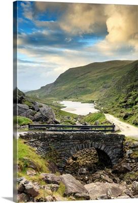 Europe, Ireland, ring of Kerry, Gap of Dunloe at sunset