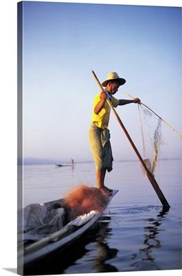 Fisherman, Lake Inle, Burma