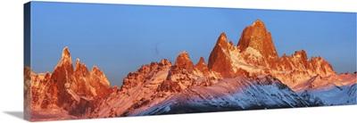 Fitzroy Mountains, Argentina, Santa Cruz, Los Glaciares, El Chalten, Patagonia, Andes