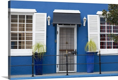 Front of building in De Waterkant, Cape Town, Western Cape, South Africa