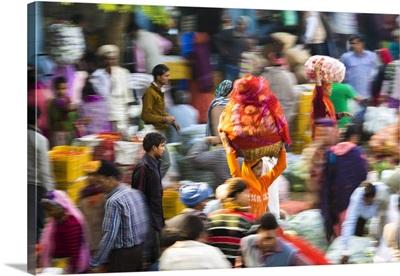 Fruit and vegetable market, Udaipur, Rajasthan, India