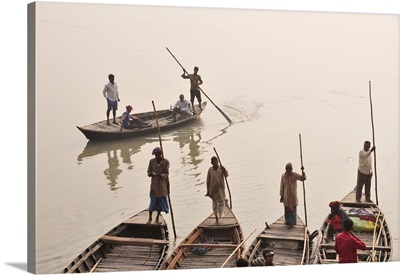 Gandak river, Sonepur Mela, India