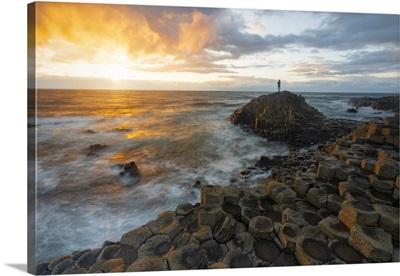 Giant's Causeway, Bregagh Road, Country Antrim, Ulster Province, Northen Ireland
