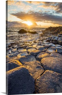 Giant's Causeway, County Antrim, Ulster region, northern Ireland
