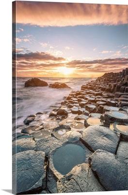 Giant's Causeway, Ulster region, Northern Ireland, Iconic basalt columns