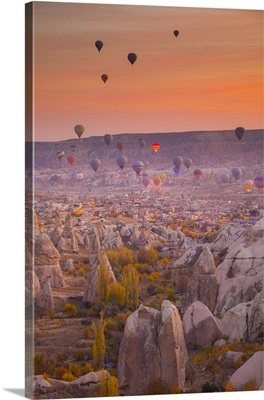 Goreme, Cappadocia, Nevsehir Province, Central Anatolia, Turkey