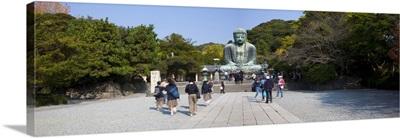 Great Buddha (Daibutsu), Kamakura, Tokyo, Japan