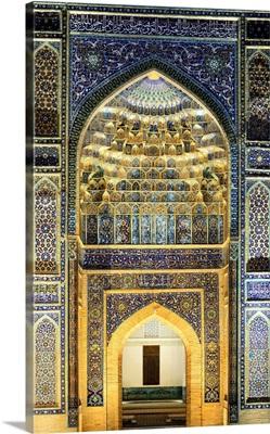 Gur-e-Amir mausoleum of the Asian conqueror Timur