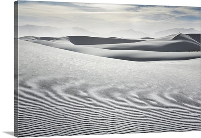 Gypsum Desert White Sands, New Mexico, Chihuahua Desert, White Sands National Monument
