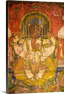 Hindu God Ganesh, Udaipur, Rajasthan, India