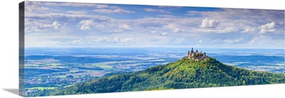 Hohenzollern Castle, Swabia, Baden Wuerttemberg, Germany