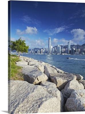 Hong Kong Island skyline, Hong Kong, China