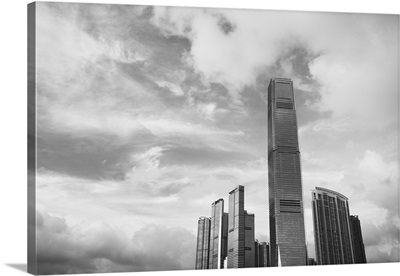 ICC (International Commerce Centre) building, West Kowloon, Hong Kong, China