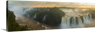 Iguacu Falls, Parana State, Brazil