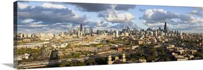 Illinois, Chicago, City Skyline