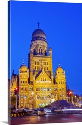 India, Maharashtra, Mumbai, the Brihan Mumbai Mahanagarpalika building