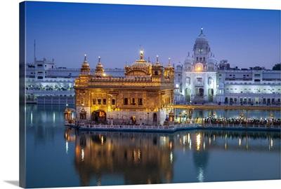 India, Punjab, Amritsar, The Harmandir Sahib, known as The Golden Temple
