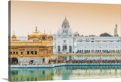 India, Punjab, The Harmandir Sahib, known as The Golden Temple
