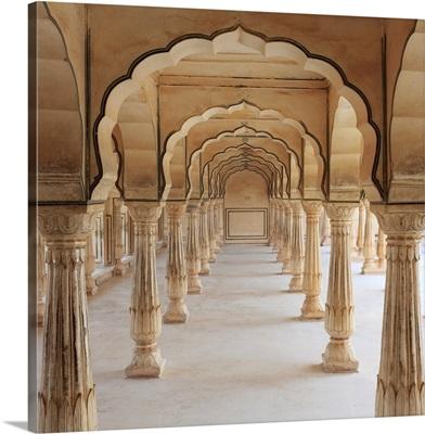 India, Rajasthan, Jaipur, Amber Fort