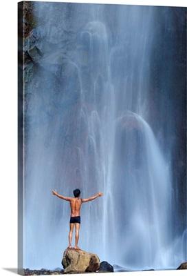 Indonesia, Bali, North Coast, Les, Air Terjun Yeh Mampeh Waterfall