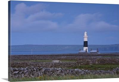 Inisheer Lighthouse, Inisheer, Aran Islands, Co. Galway, Ireland