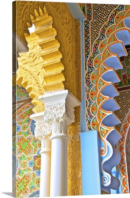 Interior Details of Continental Hotel, Tangier, Morocco, North Africa