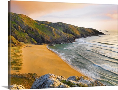 Ireland, County Donegal, Rosguil, Boyeeghter Bay