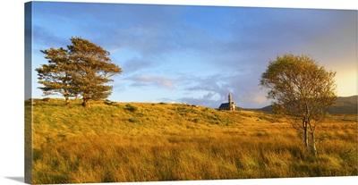 Ireland, County Donegal, Sacred heart church at Dunlewey