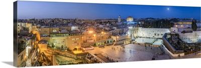 Israel, Jerusalem, Jewish Quarter of the Western Wall Plaza