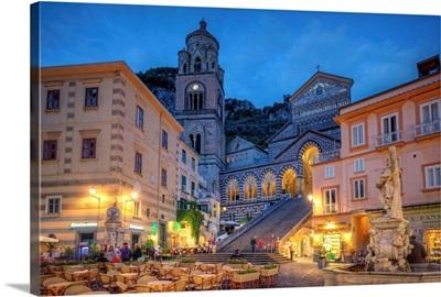 Italy, Amalfi Coast, Amalfi, The Cathedral (Duomo)