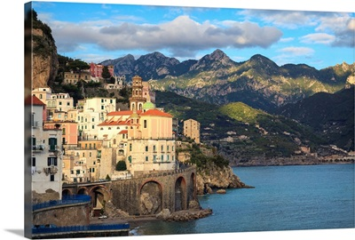 Italy, Amalfi Coast, Atrani