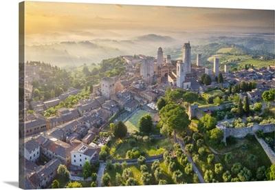 Italy, Tuscany, Siena, San Gimignano (Unesco World Heritage Site)
