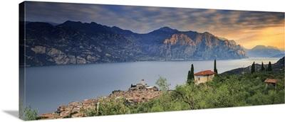 Italy. Veneto. Verona district. Lake Garda. Malcesine