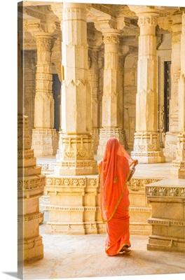 Jain Temple At Ranakpur, Rajasthan, India