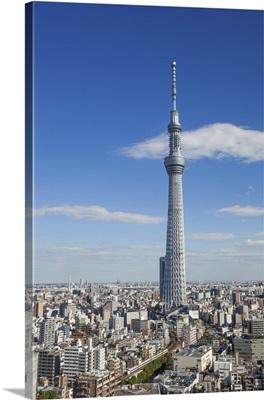 Japan, Honshu, Kanto, Tokyo, Asakusa, Skytree Tower