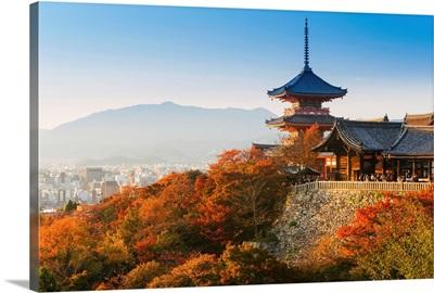 Japan, Honshu, Kiyomizu-Dera